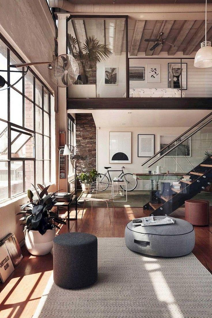 96 Minimalist Apartment Studio Decorating Ideas In 2020 Loft