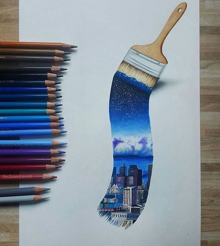 Traumhafte Malerei