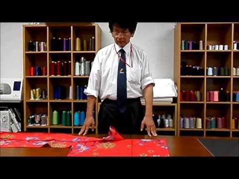 かんたん浴衣の作り方 女性用 (How to sew a yukata for women)- YouTube
