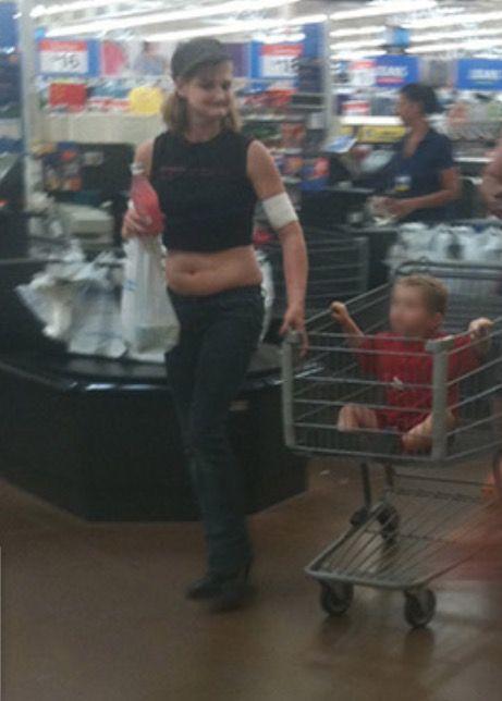 Belly Buttons And Babies At Walmart Walmart Walmart Belly