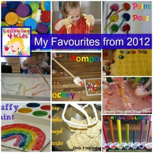 Learning4kids' Favourite Activities from 2012