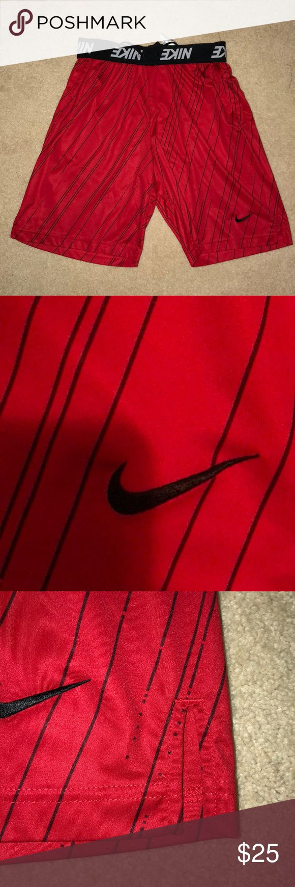 Nike Basketball Shorts Men's Nike Basketball Shorts in red, size medium brand new without tags. Perfect condition. Men's running, Nike running, Nike running shorts, running shorts. Nike Shorts Athletic