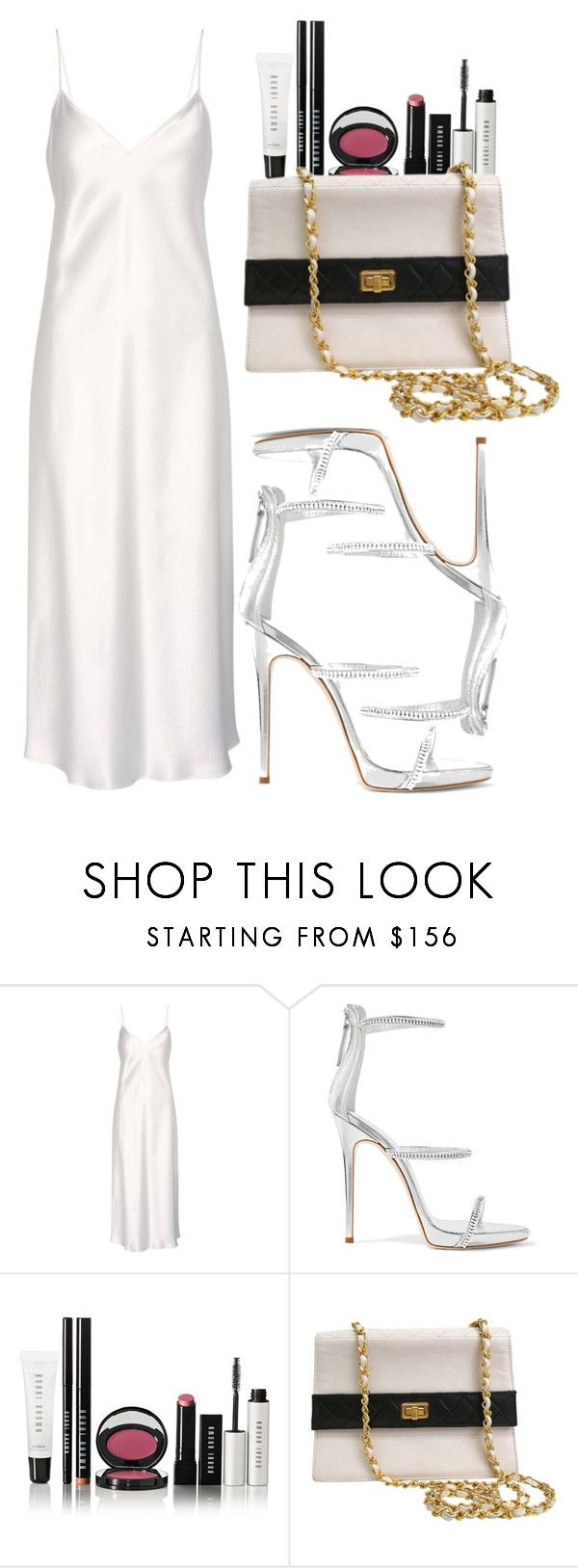 """""""roman holiday."""" by inlovewith4idiots ❤ liked on Polyvore featuring Yves Saint Laurent, Giuseppe Zanotti, Bobbi Brown Cosmetics and Chanel"""