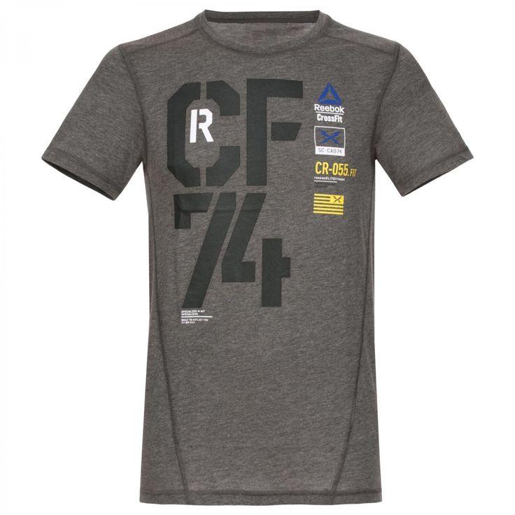 Reebok Crossfit Tri Blend Graphic T Shirt | eBay