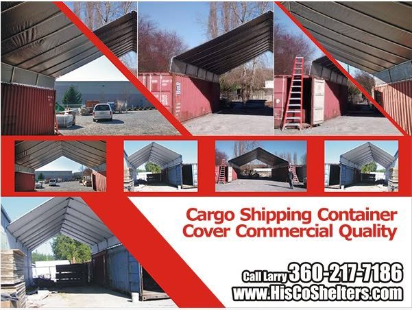 Fabric Garage Kits : Best cargo shipping container covers images on