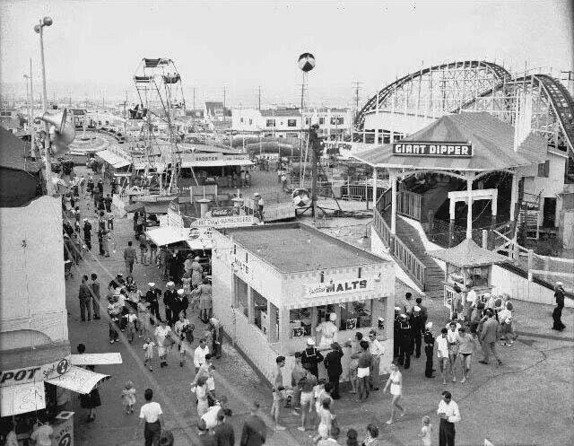 Belmont Park Ca 1940 San Diego Way Back When San