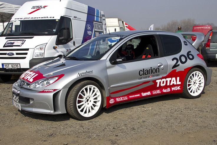 Peugeot 206 – WRC 2002 styled wrap.