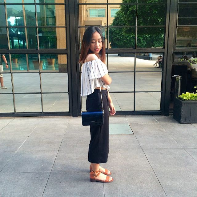 Off My Shoulder #ootd #streetstyle #holiday