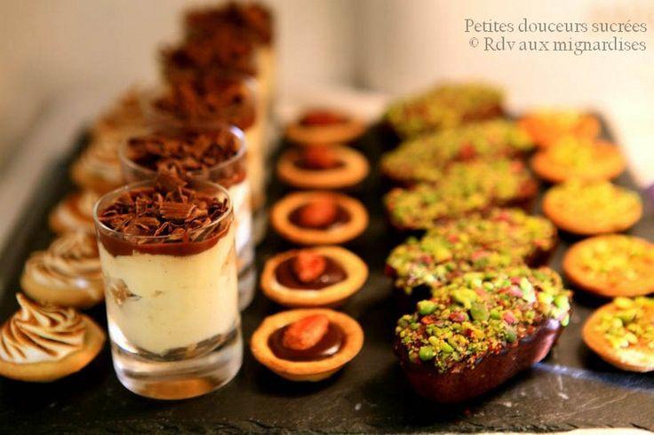 Des idées pour vos buffets! PART 1 - Rdv Aux Mignardises chez Mouni