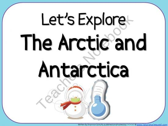Let's Explore The Arctic & Antarctica Bundle product from 1plus1plus1equals1 on TeachersNotebook.com