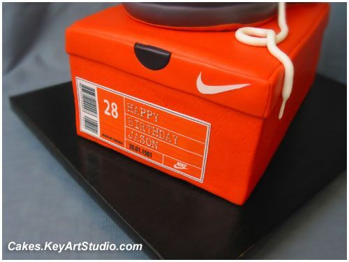 12 best Nike shoe cake images on Pinterest | Shoe cakes, Air max 1 ...