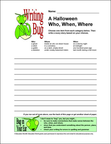 halloween creative writing prompts high school Here are five halloween-themed writing prompts that you could use  another  way to bring the halloween spirit into your middle and high school english  for a  creative way to teach the elements of plot, as well as short story.