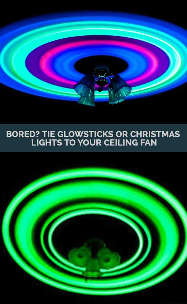 how to make glowing water with glow sticks