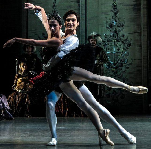 "Polina Semionova (American Ballet Theatre) and Friedemann Vogel (Stuttgarter Ballett) both principal guest at ""Swan Lake"", Mikhailovsky Ballet (September 10, 2014)"