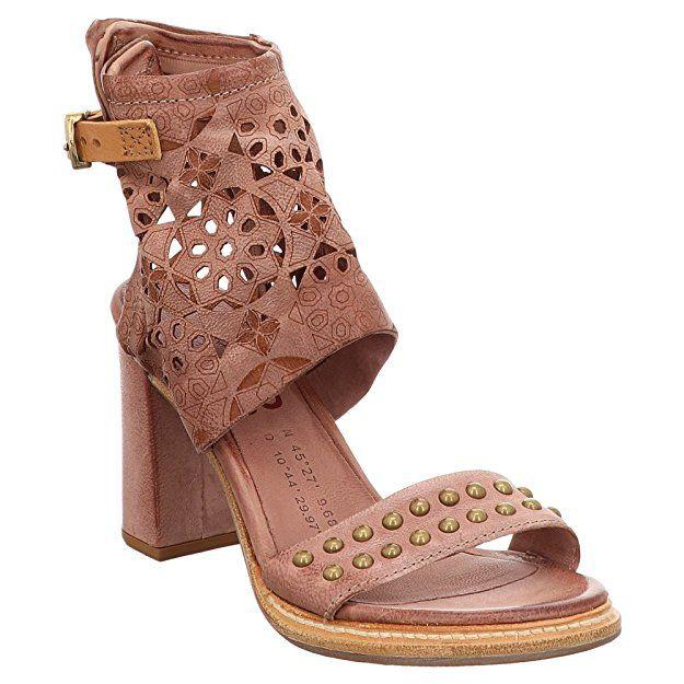 AS98 | Airstep | BASILE | Sandalen – pink | Quarz, Farbe: beige; Größe: 36 – … – Schuhe Damen Frühling Sommer