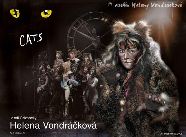 HELENA 50 LET NA SCÉNĚ | Cats - Grizabella