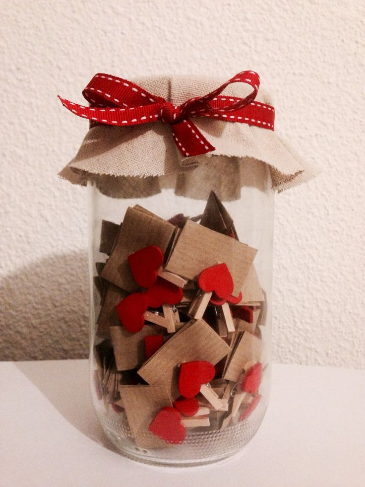 Création confiture à mots doux DIY idée pour la saint Valentin