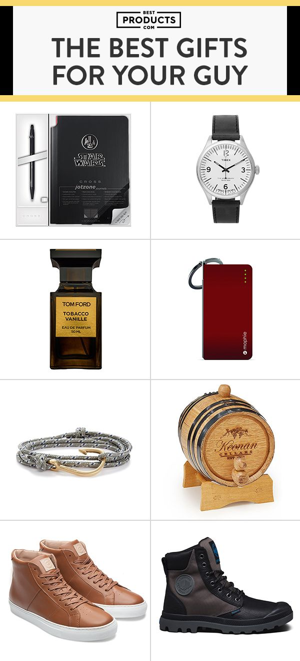 Finding a gift that has the right personal touch is never easy — let us do the brainstorming for you with these top gift picks for the special man in your life.