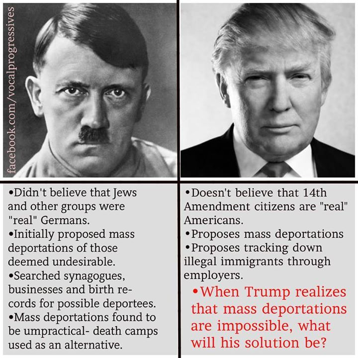 similarities between donald trump and hitler - Google Search