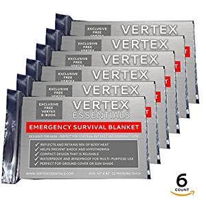 Emergency Blanket 6 pack