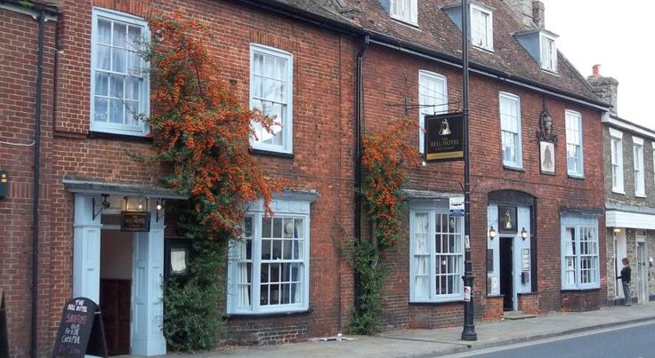 The Bell Hotel Mildenhall Set in a converted coaching inn, the 18th-century Bell Hotel features original oak beams and traditional fireplaces. In Mildenhall town centre, the hotel offers an on-site restaurant and elegant bedrooms.