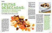 Aperitivo sabroso y sano: Frutas desecadas: pequeñas en tamaño pero grandes en nutrientes [Pág. 1 de 2]   Revista   EROSKI CONSUMER