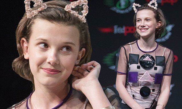 Millie at Seattle comic con! (2)