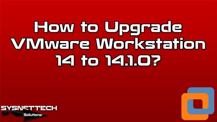 █ How to Update VMware Workstation on Windows 10? | SYSNETTECH Solutions  █ Watch the Video ► https://www.youtube.com/watch?v=q1-SuFl5L10  #VMware #VMwareWorkstation #PC #VirtualPC #VirtualMachine #Virtualization #Windows #Windows10 #OperatingSystem #System #Network #IT #Tech #Technology