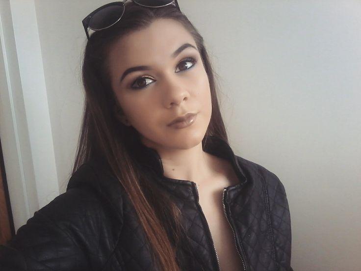 Winter makeup look
