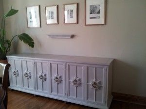 Chalk Painted Buffet. With Tips And Links To