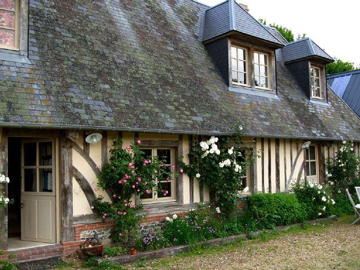Maison de charme typique normande id alement situ e quelques kms des plage - Maison de charme normandie ...