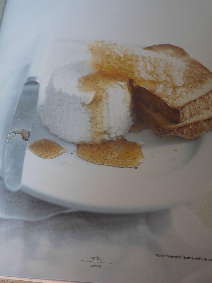 ricotta honing toast