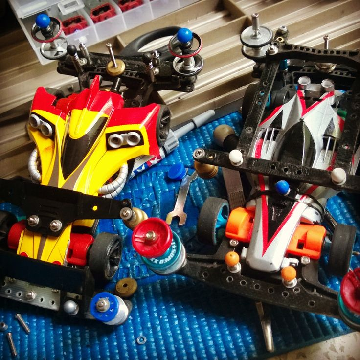 Ready for race! Speed Tech Setup