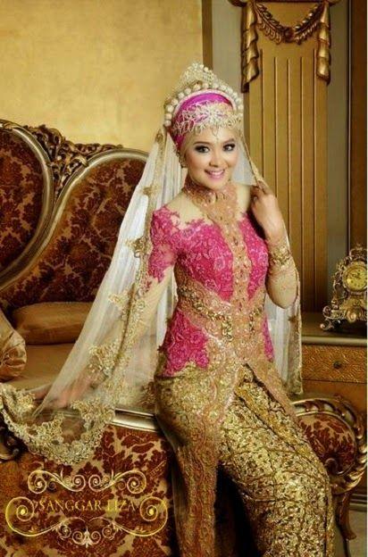 Model Baju Pengantin Muslim,baju pengantin muslim dan model kebaya,Aneka Model Kebaya Pengantin,Gaun Pengantin Muslimah,Kebaya Pengantin Muslimah,