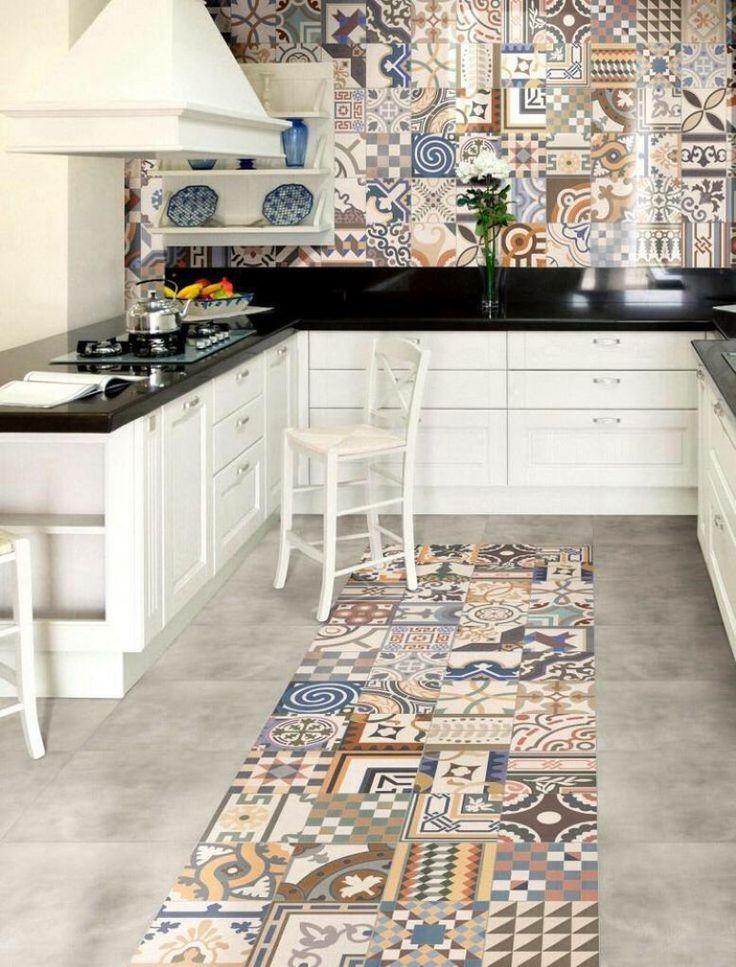 2  Ladrilho hidraulico na cozinha, no blog Detalhes Magicos