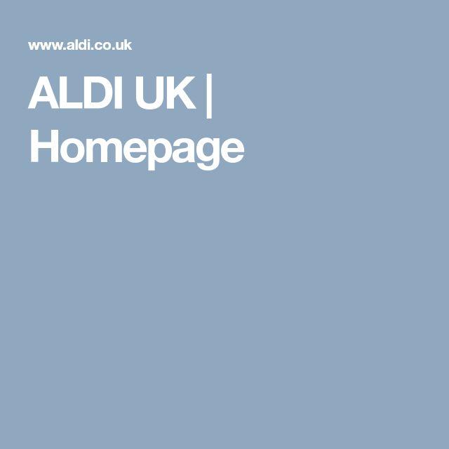 ALDI UK   Homepage