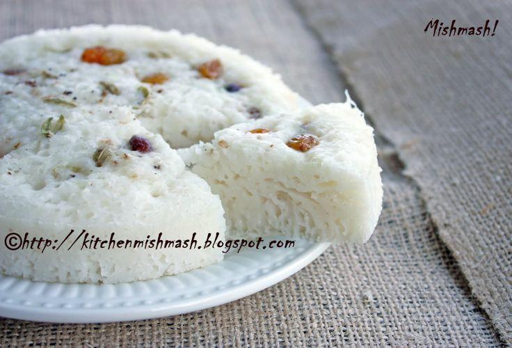 Mishmash !: Vatteppam/Vattayappam – Kerala's Queen of steamed rice cake…..