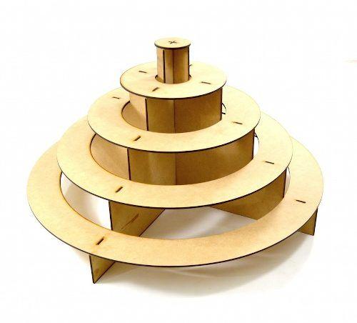 base circular para cupcakes candy bar mesa de dulces