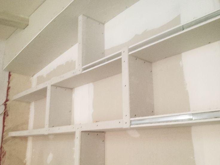Mejores 8 im genes de mueble pladur para barra de bar en - Hacer pared pladur ...