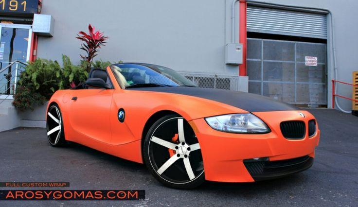 Bmw Z4 In Custom Wrap Bmw Roadsters Amp Coupes Pinterest