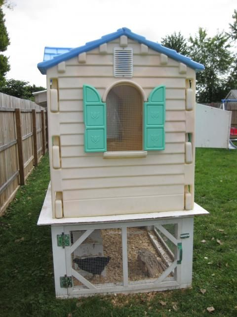 good coop idea if i can find a playhouse for free or cheap