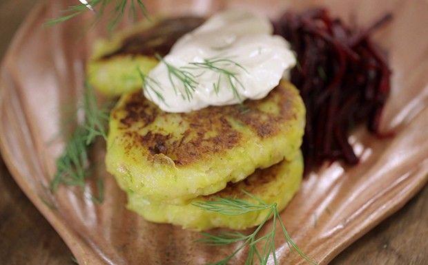 Cozinha prtica com Rita Lobo, Bolinho de peixe feito com massa de nhoque (Foto: Divulgao/GNT)