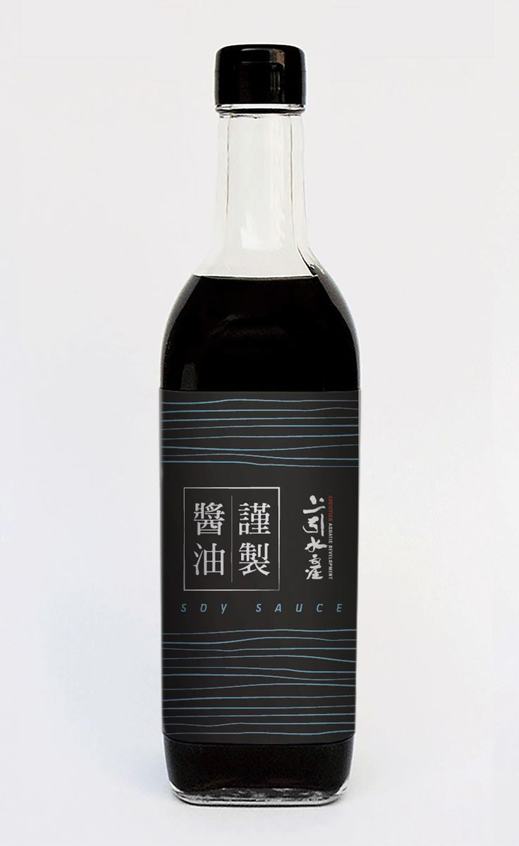 三井-上引水產-醬油包裝設計 MITZUI-ADDICTION AQUATIC DEVELOPMENT-soy sauce packaging design