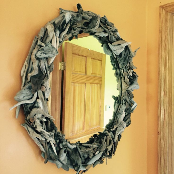 Driftwood mirror by Kellie Irish