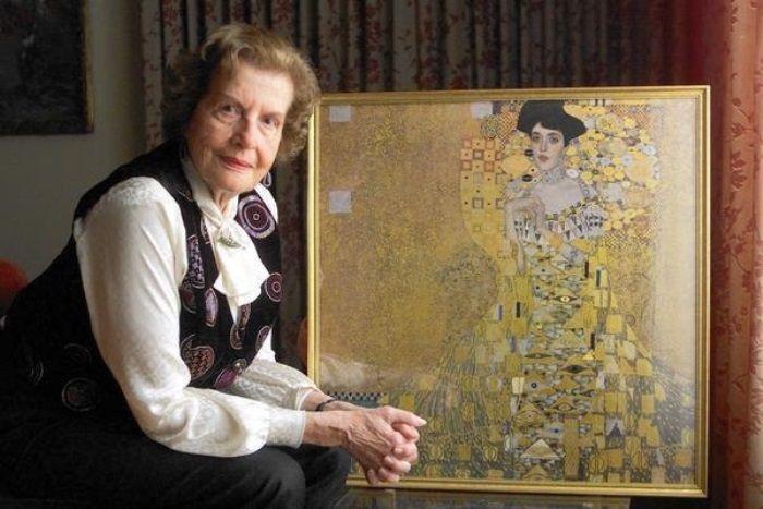 Мария Альтман и знаменитый портрет ее тети Адели   Фото: static.dramastyle.com