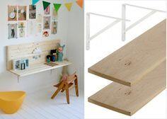 Idée bureau DIY chambre enfant