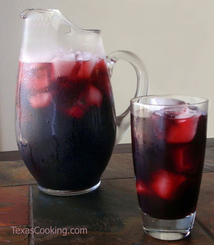 Agua de Jamaica Recipe | drinks/desserts-not yet posted to boards | P ...