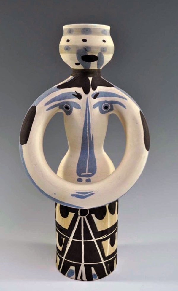 Picasso, Pablo, Woman Lamp, Madoura, Ceramic, Limited Edition, 1955