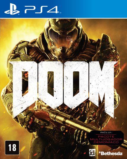 Jogos Diversos - Doom - Phantom Pain - PES - Fallout - SFV