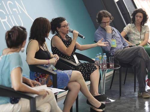 debate Rio Joquei club design + educação. Matéria do o globo